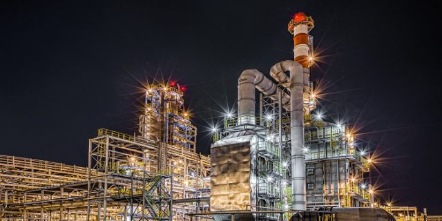 low-gas-prices-processing-facility